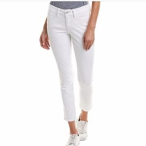 NYDJ Alina Convertible Ankle White Skinny Jeans